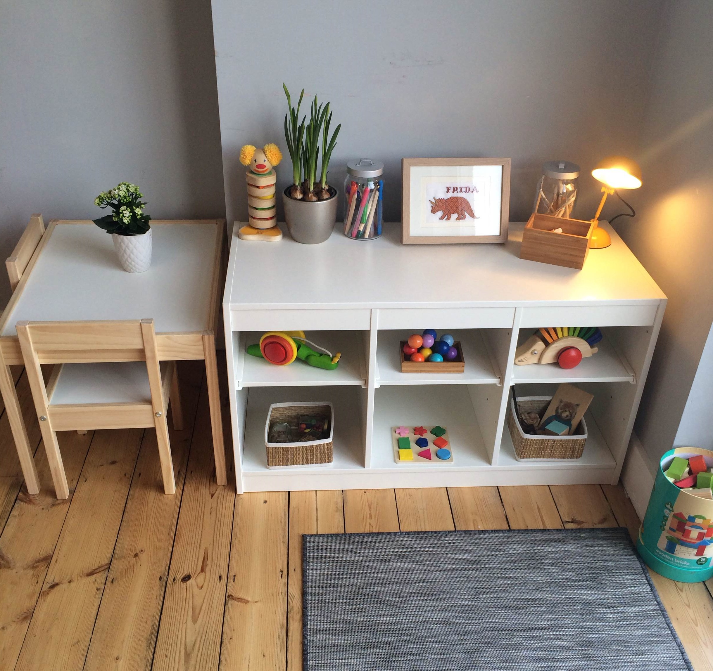 4 Best Kid Friendly Kitchen Flooring Options: Montessori In The Home: A Baby Friendly Dining Room